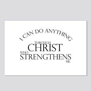 I can do anything Postcards (Package of 8)