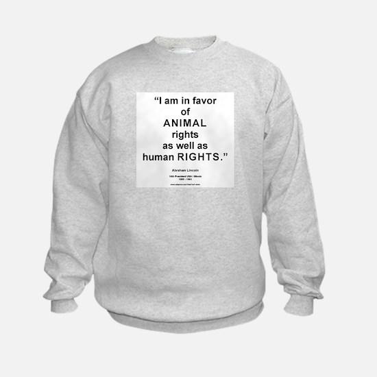 Animal Rights/L Sweatshirt