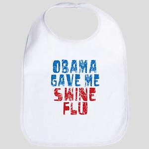 Obama Swine Flu Bib