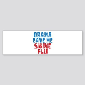 Obama Swine Flu Bumper Sticker