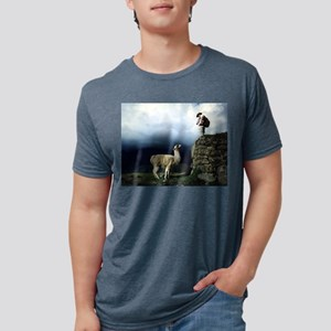 Llama Encounter White T-Shirt