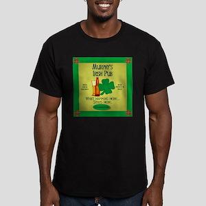 Murphy's Irish Pub Men's Fitted T-Shirt (dark)