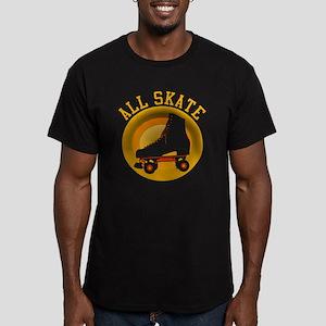 Scott Designs All Skate Men's Fitted T-Shirt (dark