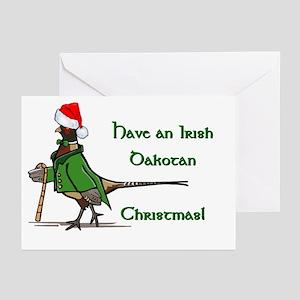Santa Pheasant Greeting Cards (Pk of 10)