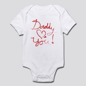 Daddy Loves You Infant Bodysuit