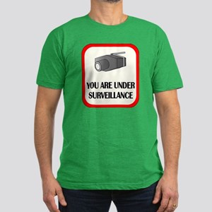 You Are Under Surveillance Men's Fitted T-Shirt (d