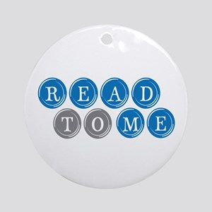 Read To Me Ornament (Round)