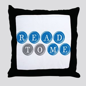 Read To Me Throw Pillow