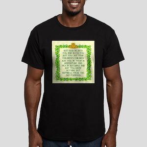 Irish Marriage Blessing Men's Fitted T-Shirt (dark