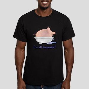 Scott Designs Hogwash Men's Fitted T-Shirt (dark)