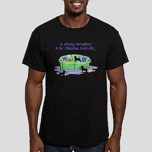 Scott Designs Men's Fitted T-Shirt (dark)