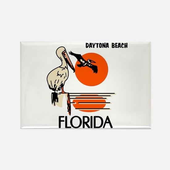 Daytona Beach Florida Rectangle Magnet