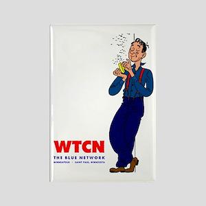WTCN 1280 Rectangle Magnet