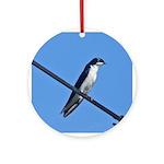 Tree Swallow Ornament (Round)