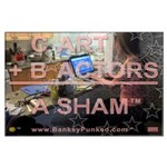 Banksy Punked Poster (Hollywood Version)