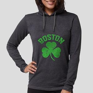 Boston Grunge - dk Long Sleeve T-Shirt