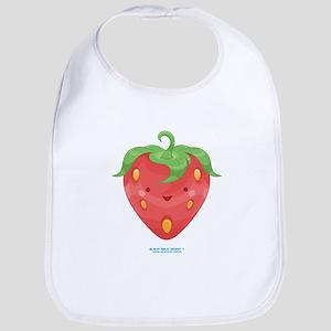 Kawaii Strawberry Bib