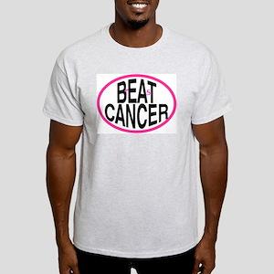 Beat Cancer + r&s - Light T-Shirt