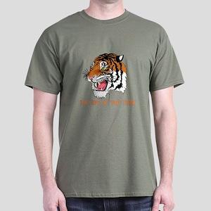 """The Eye Of The Tiger"" Dark T-Shirt"