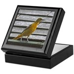 Female Baltimore Oriole Keepsake Box