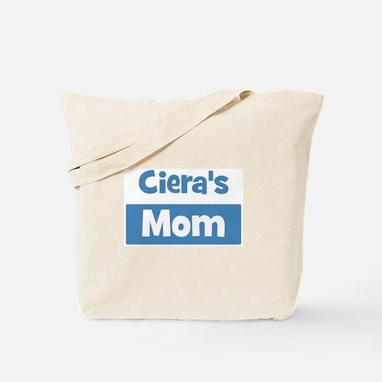 Cieras Mom Tote Bag