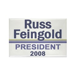 RUSS FEINGOLD 2008 Rectangle Magnet (100 pack)
