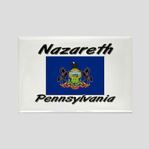Nazareth Pennsylvania Rectangle Magnet