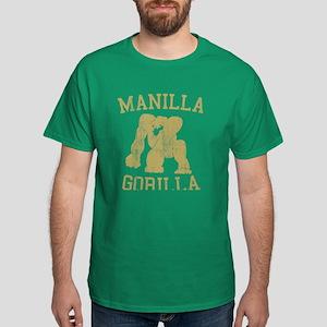 manilla gorilla mohammed ali retro Dark T-Shirt