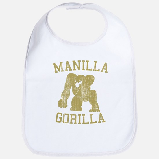 manilla gorilla mohammed ali retro Bib