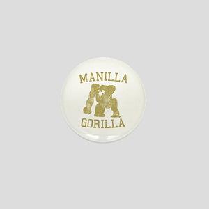 manilla gorilla mohammed ali retro Mini Button