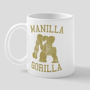 manilla gorilla mohammed ali retro Mug