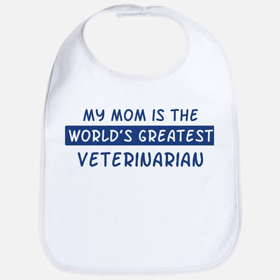 Veterinarian Mom Bib