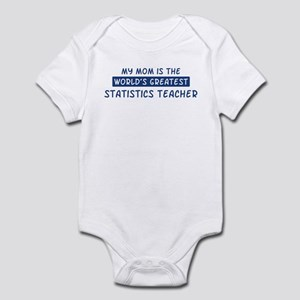 Statistics Teacher Mom Infant Bodysuit