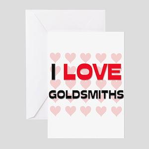 I LOVE GOLDSMITHS Greeting Cards (Pk of 10)