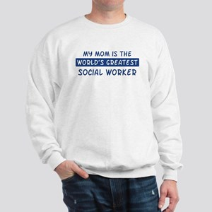 Social Worker Mom Sweatshirt
