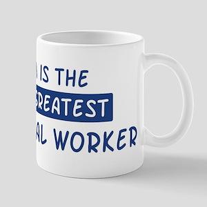 Sheet Metal Worker Mom Mug