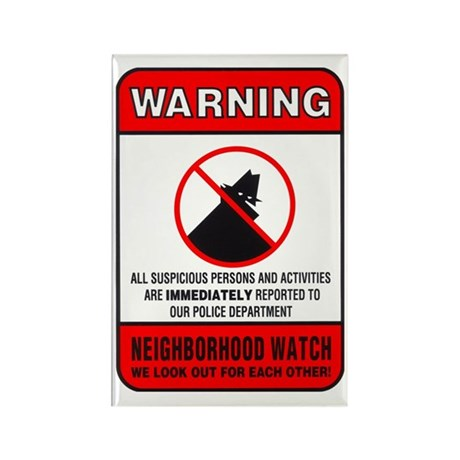 neighborhood watch Magnets