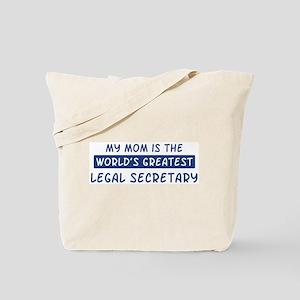 Legal Secretary Mom Tote Bag