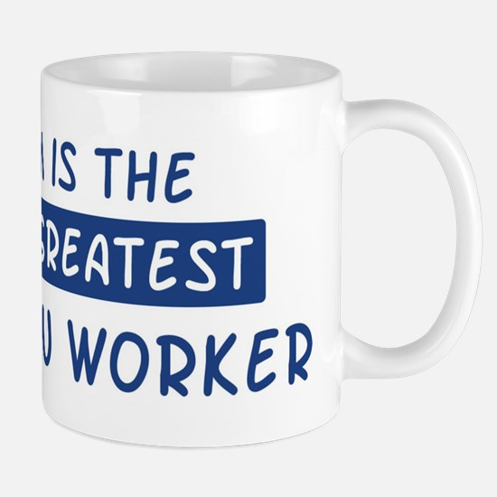 Insulation Worker Mom Mug