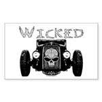 Wicked- Rectangle Sticker