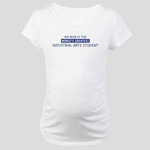 Industrial Arts Student Mom Maternity T-Shirt