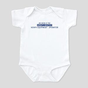 Heavy Equipment Operator Mom Infant Bodysuit