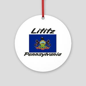 Lititz Pennsylvania Ornament (Round)