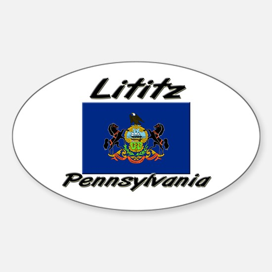 Lititz Pennsylvania Oval Decal