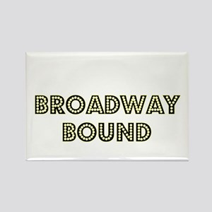 Broadway Bound Rectangle Magnet