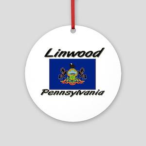 Linwood Pennsylvania Ornament (Round)