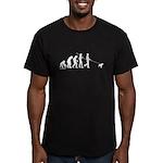 Boxer Evolution Men's Fitted T-Shirt (dark)