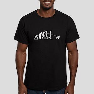 Cocker Evolution Men's Fitted T-Shirt (dark)