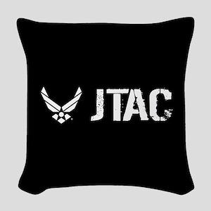 USAF: JTAC Woven Throw Pillow