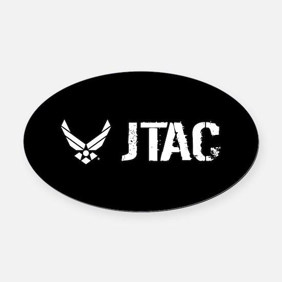 USAF: JTAC Oval Car Magnet